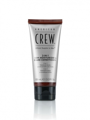American Crew 2-In-1 Skin Moisturizer & Beard Conditioner Idratante Barba e Pelle 100ml