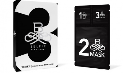 B-Selfie Three Sensational Treatment Maschere 5 pz