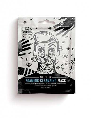 Barber Pro Foaming Cleasing Mask 20 g