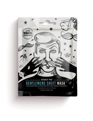 Barber Pro Gentlemen's Sheet Mask 23 g