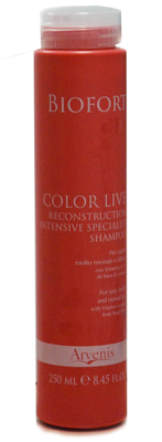 Biofort Color Live Reconstruction Intensive Specialist Shampoo Capelli Rovinati e Sfibrati 250ml