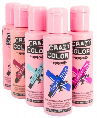 Crazy Color by Renbow, tinta semipermanente in crema Made in UK 100ml