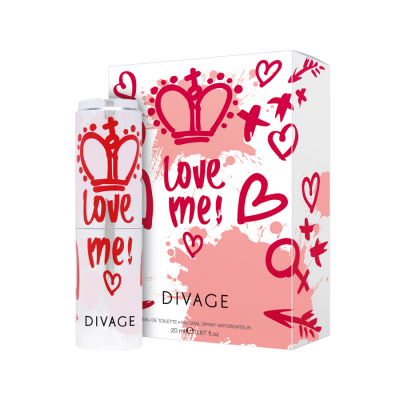 Divage Love Me! EDT Natural Spray 20ml