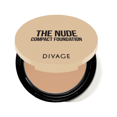 Divage The Nude Compact Foundation Fondotinta Compatto 9ml