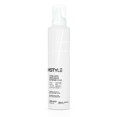 Dott. Solari #Style Volume Mousse Strong Hold 300ml