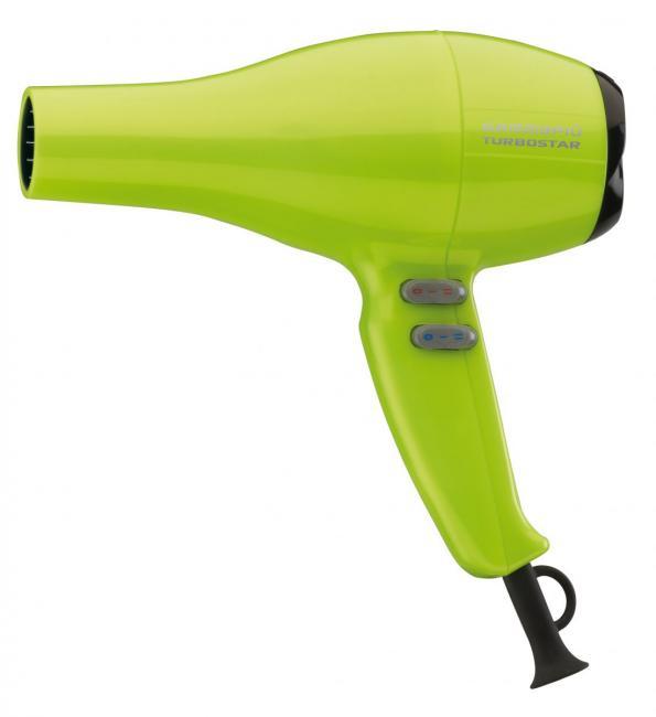 Gammapiù Turbostar Asciugacapelli Professionale Con Diffusore Verde