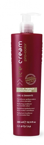 Inebrya Color Perfect Conditioner Oro & Diamante perfezionatore del colore cosmetico 300ml