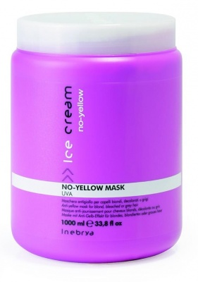 Inebrya No Yellow Mask Uva Maschera Antigiallo 1000 ml