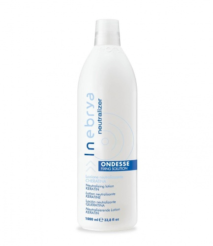 Inebrya Ondesse Fixing Solution Lozione Neutralizzante Cheratina 1000ml