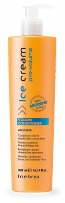 Inebrya Volume Conditioner Arginina Conditioner Volume Capelli Sottili e senza Tono 300ml