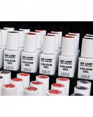 Layla No Lamp Gel Polish Colour Gel Semipermanente No UV 10ml
