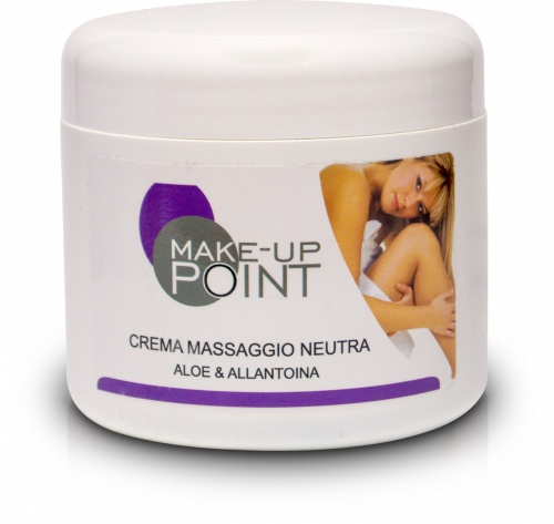 Make-Up Point Crema Massaggio Neutra Aloe e Allantoina 500ml