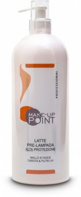 Make-Up Point Latte Pre-Lampada Alta Protezione con Filtri UV 1000ml