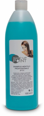 Make-Up Point Shampoo Mentolo Professionale pH 5,5 1000ml