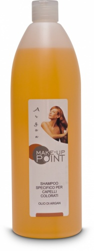 Make-Up Point Shampoo Specifico per Capelli Colorati Olio di Argan 1000ml