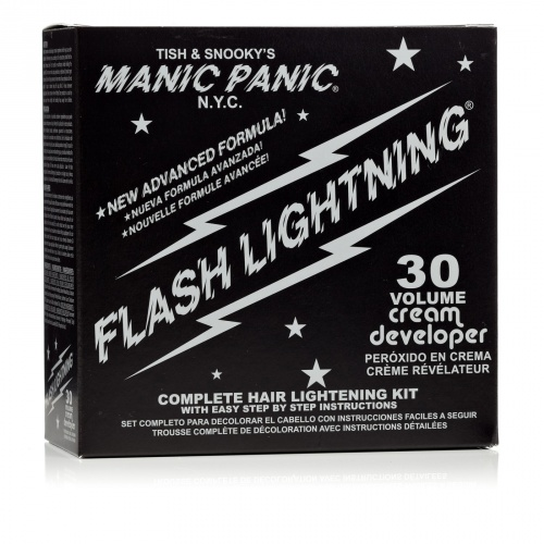Manic Panic Flash Lightning Super Strenght Bleach Kit Decolorazione