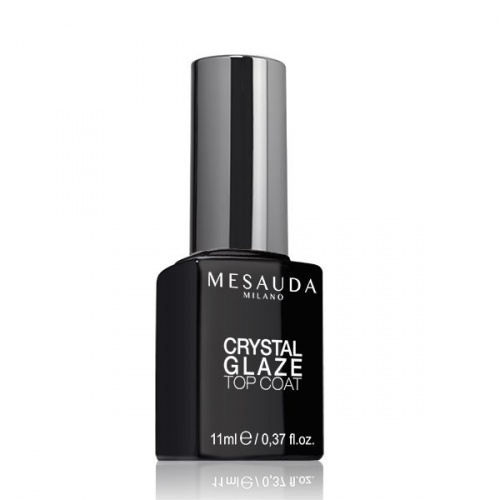 Mesauda Crystal Glaze Top Coat Effetto Vetro 11ml