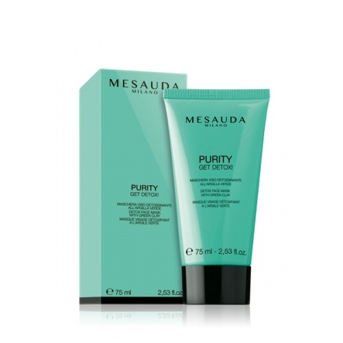 Mesauda Purity Get Detox! Maschera Viso Detossinante all'Argilla Verde 75ml