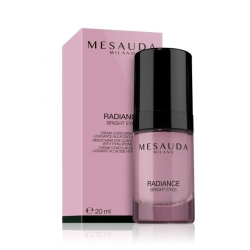 Mesauda Radiance Bright Eyes Crema Contorno Occhi Levigante All'Acido Ialuronico 20ml