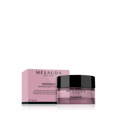 Mesauda Radiance Refining Night Creme Crema Notte All'Acido Ialuronico 50ml
