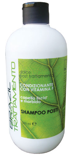 Natural HP Brazil Shampoo Post Trattamento Capelli Stirati 500ml