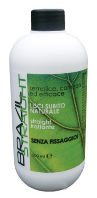 Natural HP Brazil Straight Stiratura Senza Fissaggio 500ml