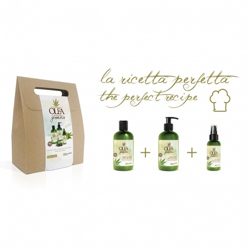 Olea Green Take Away Shampoo Dolce + Crema Dolce + Olio Dolce
