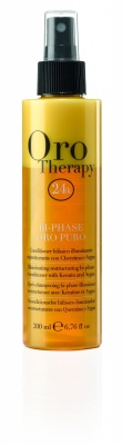 Oro Therapy Bi-Phase Oro Puro Conditioner Bifasico Illuminante Ristrutturante 200ml