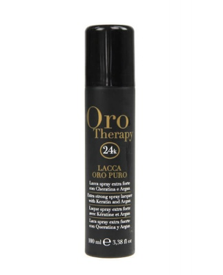 Oro Therapy Lacca Spray Extra Forte con Cheratina e Argan 100ml