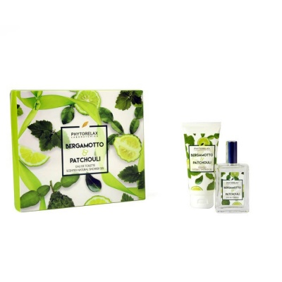 Phytorelax Bergamotto & Patchouli EDT e Scented Natural Shower Gel