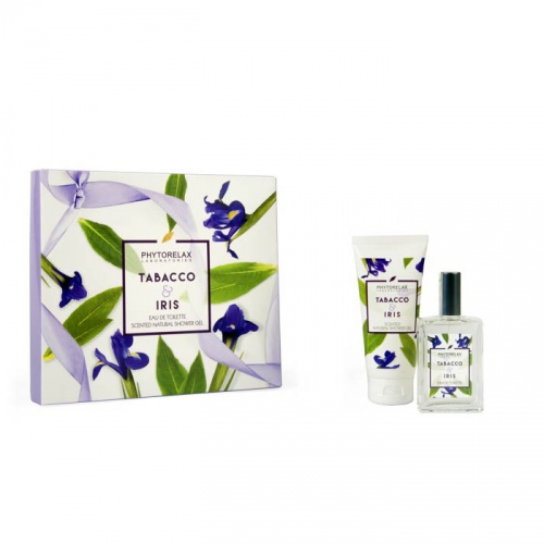 Phytorelax Tabacco & Iris EDT e Scented Natural Shower Gel