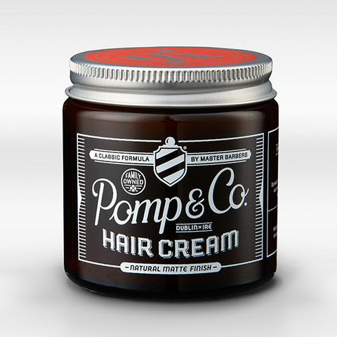 Pomp & Co. Hair Cream Cera per Capelli in Crema Finitura Opaca 120ml