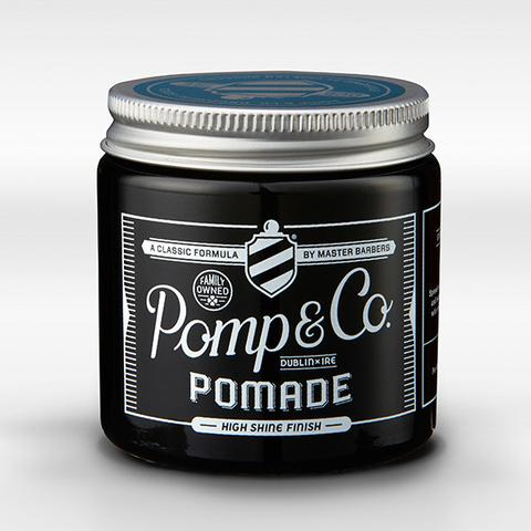 Pomp & Co. Pomade Brillantina per Capelli 120ml