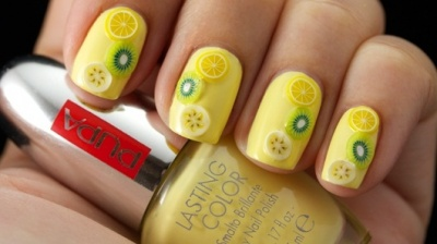 Pupa Nail Art Mania Juicy Fruits Smalto Brillante e Fruttini 3D Super Colorati