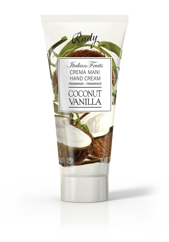 Rudy Italian Fruits Crema Mani Coconut Vanilla 100ml
