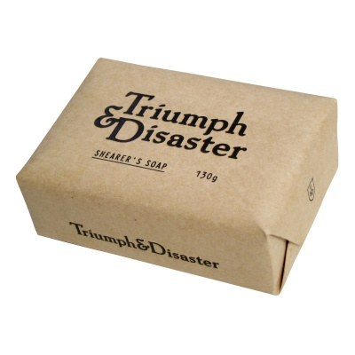 Triumph & Disaster Shearer's Soap < Shearer's Savon > Sapone Per Corpo e Viso 130 g