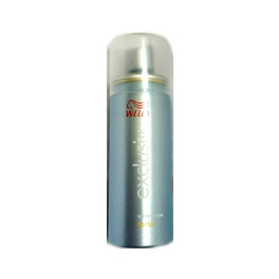 Wella Exclusiv Forte Lacca Spray No Gas Ecologica 50ml