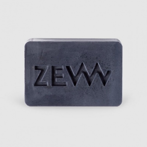 Zew Beard Soap Sapone Detergente per la Barba al Carbone Purificante 85ml